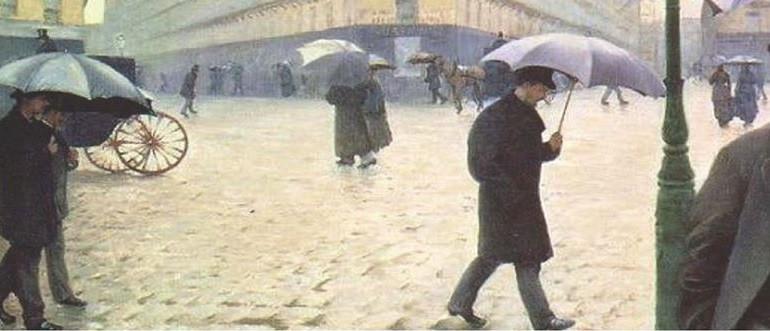 arte impressionista di Gustave Caillebotte