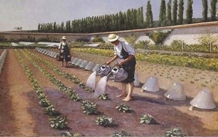I giardinieri di Gustave Caillebotte