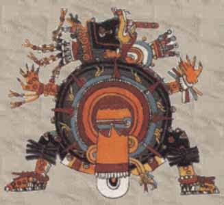 Mexitl, dio della guerra, Messico. Casa Azul Frida Kahlo
