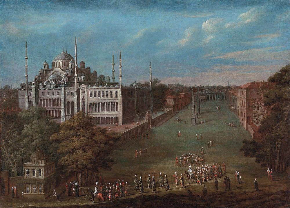 Ippodromo Costantinopoli, Galatea Vaglio