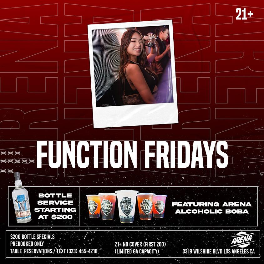 FUNCTION FRIDAYS | 21+