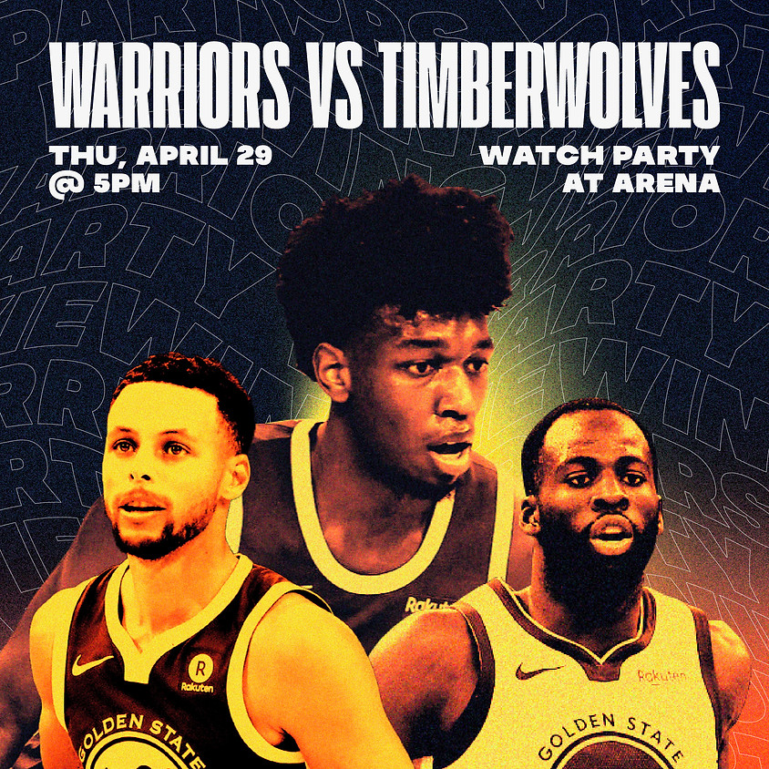 Warriors Game Viewing Party | All Ages