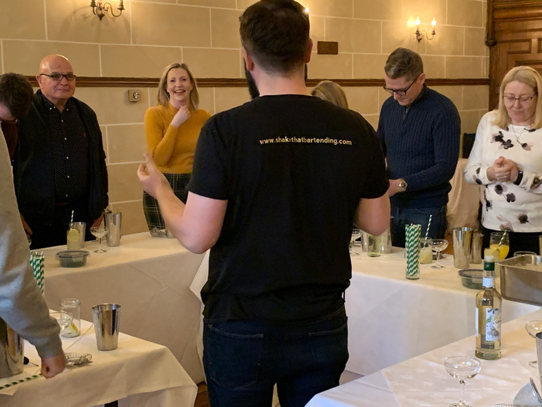 cocktail masterclass edinburgh