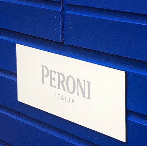 A New Lease of Life - Outside Peroni Bar Rebrand