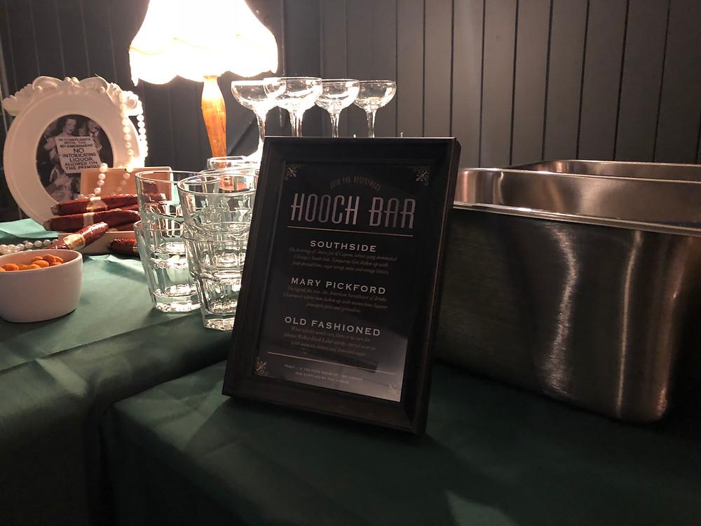 mobile cocktail bar Edinburgh