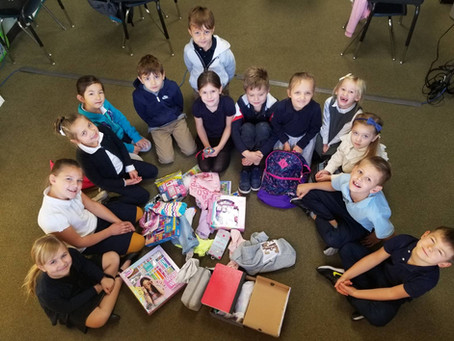 Mr. Meyers' class is collecting items for an orphanage in Mexico