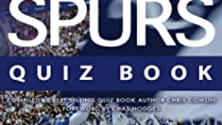 BOOK: The Spurs Quiz Book - Compiled by Chris Cowlin {Signed by the author}