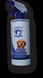 סטריל – תרסיס נגד פרעושים על כלבים מעל ג