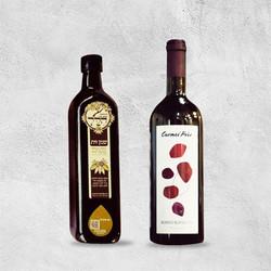 מדבקה יין