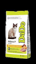 דאדו מזון יבש לחתול בוגר עוף-03.png