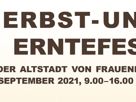Speise & Getränkekarte, Herbst -und Erntefest Frauenfeld 2021