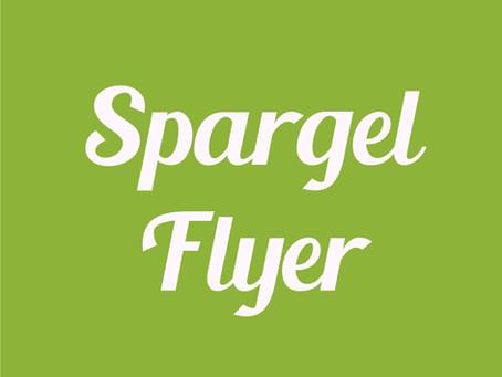 Spargelflyer