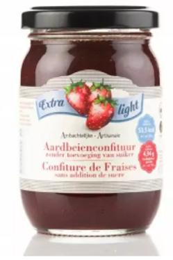 Aardbeienconfituur Suikervrij & Koolhydraatarm
