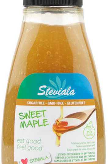 Steviala Sweet Maple -maple syrup - koolhydraatarm