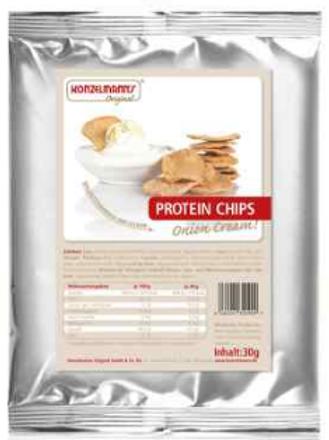 Chips Onion Cream - koolhydraatarm - Konzelmann