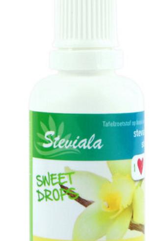 Steviala Sweet drops Vanille bourbon