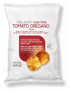 Chips tomaat oregano - koolhydraatarm