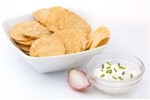 Chips cream union - koolhydraatarm