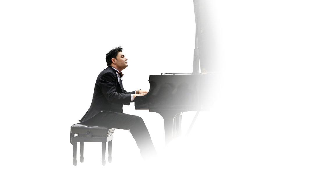 Indischer Konzertpianist in Deutschland