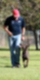 Craig A. Murray and Patrol Dog