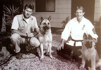 Craig A. Murray with Patrol and Evidence Search Dogs