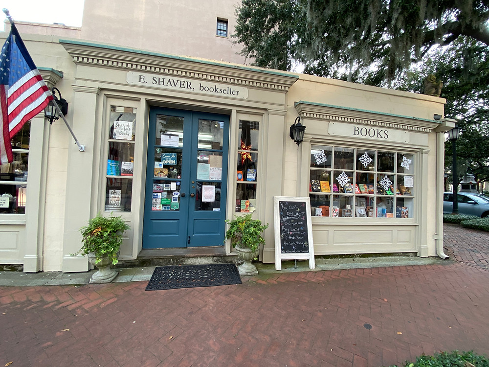 E Shaver bookseller unique bookstore indie bookshop savannah georgia