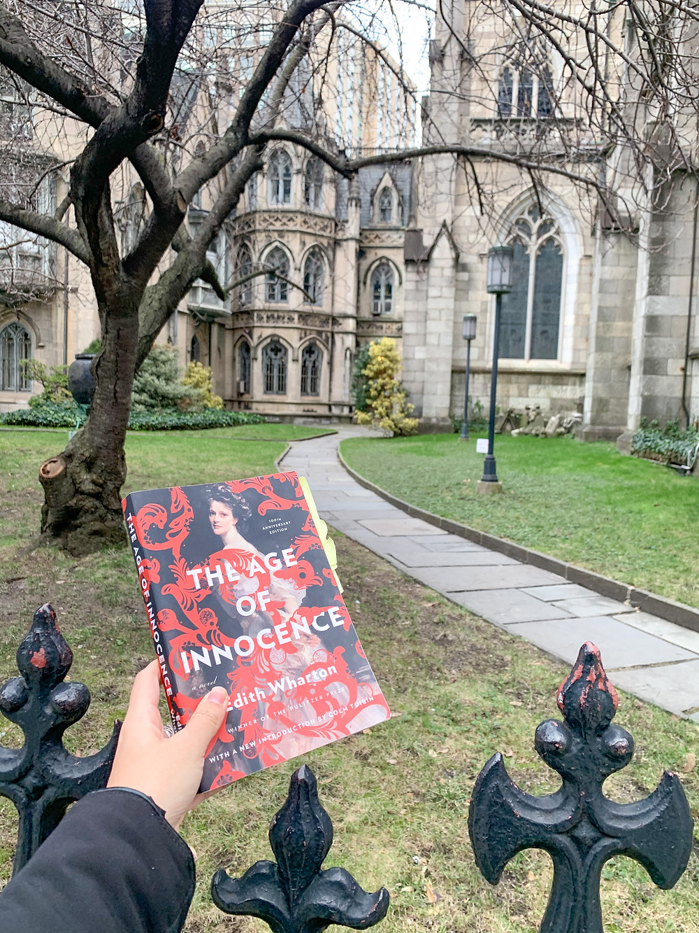 Grace Church Literary Tour of New York City, Edith Wharton's The Age of Innocence