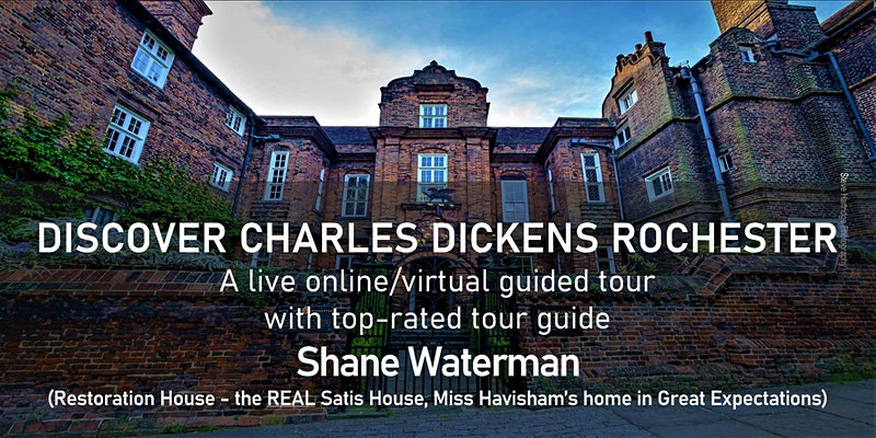 Literary events virtual book events book festivals literary festivals March 2021 Charles Dickens Rochester UK