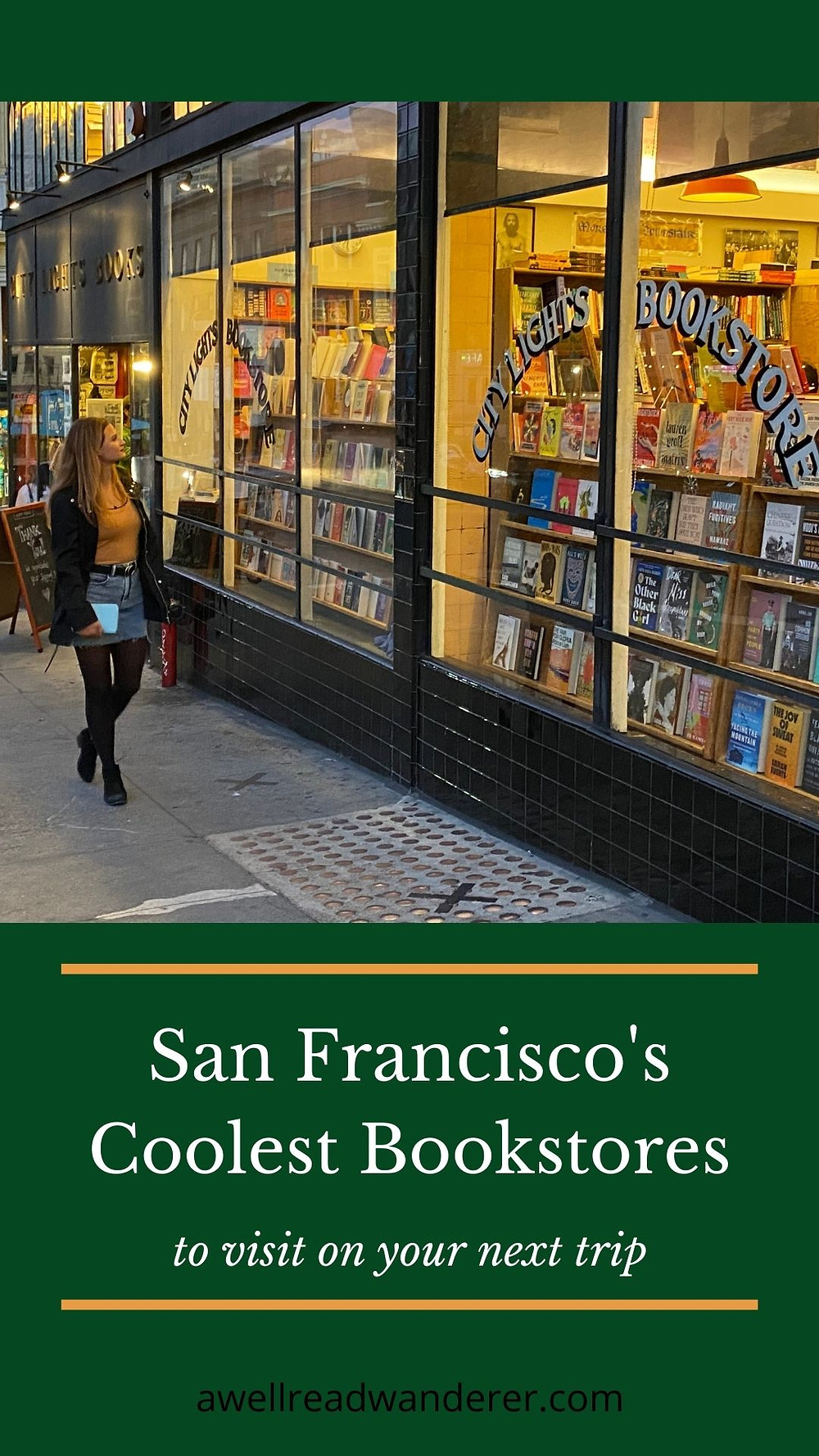 San Francisco bookstores City Lights bookstore history