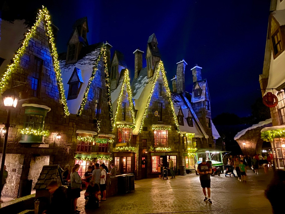 Harry Potter World Christmas decorations warm butterbeer
