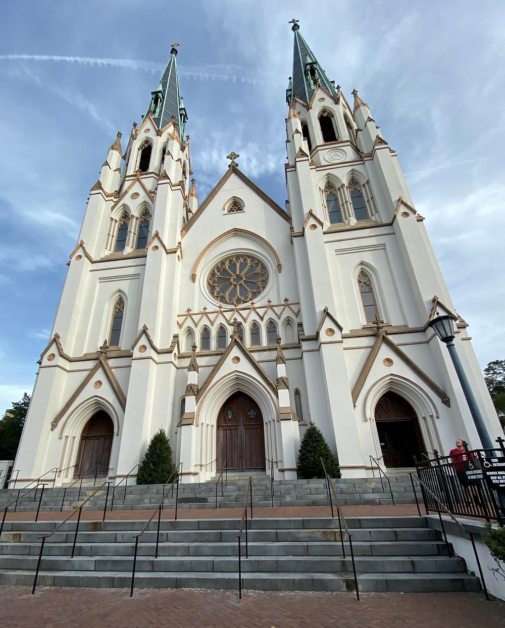 Cathedral of St John Flannery O'Connor's church Savannah Georgia literary sites churches