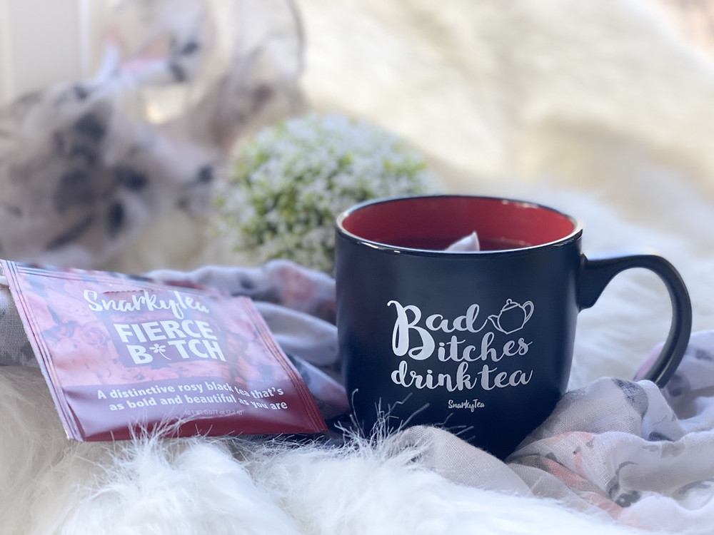 Fierce Bitch by Snarky Tea a woman-owned business