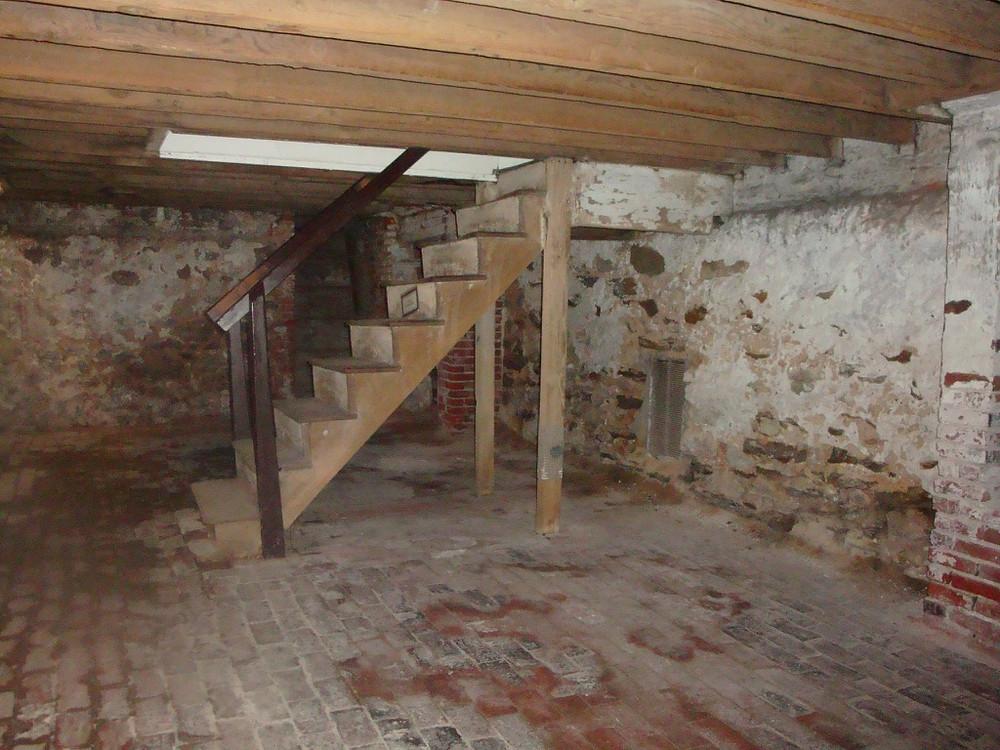 Edgar Allan Poe basement