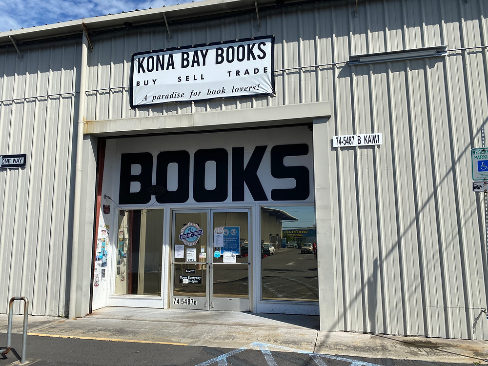 cool bookstores hawaii big island kona bay books