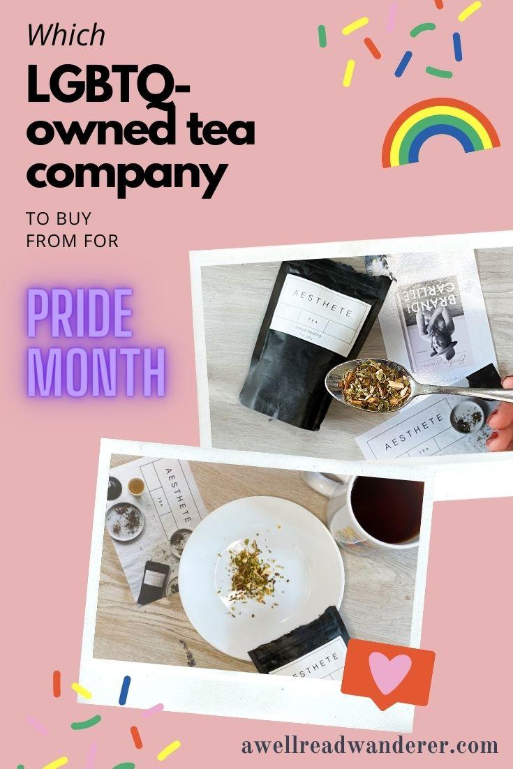 brandi carlile book review broken horses lgbtq owned tea company aesthete tea review ashwagandha pride month tea