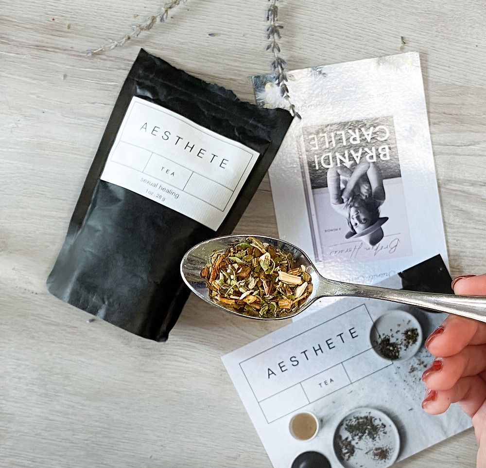 ashwagandha black owned tea company woman owned business lgbtq owned tea company aesthete tea review folk healer tea