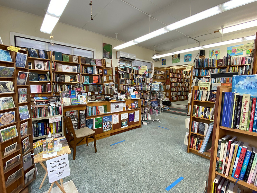cool indie bookstores big island hawaii big island book buyers used books