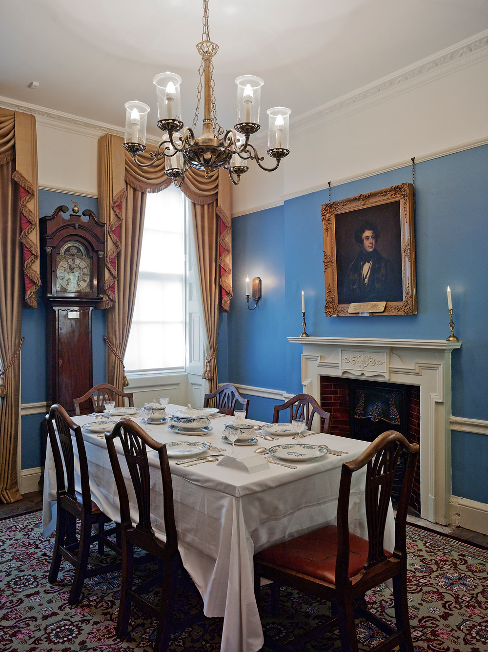 Dickens museum London Dickens home Dickens dining room renovation refurbished