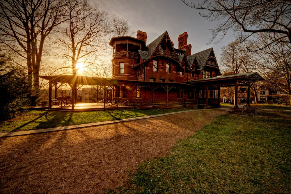 Mark Twain home Hartford Connecticut virtual tour visit online during covid