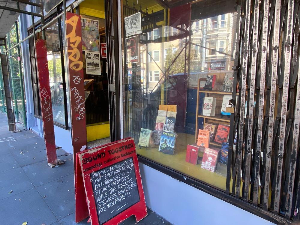 Haight Ashbury bookstore San Francisco bookshop Bound Together Bookstore