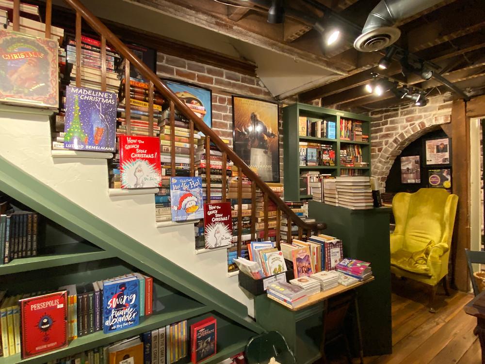 The Book Lady bookstore savannah unique indie bookstores