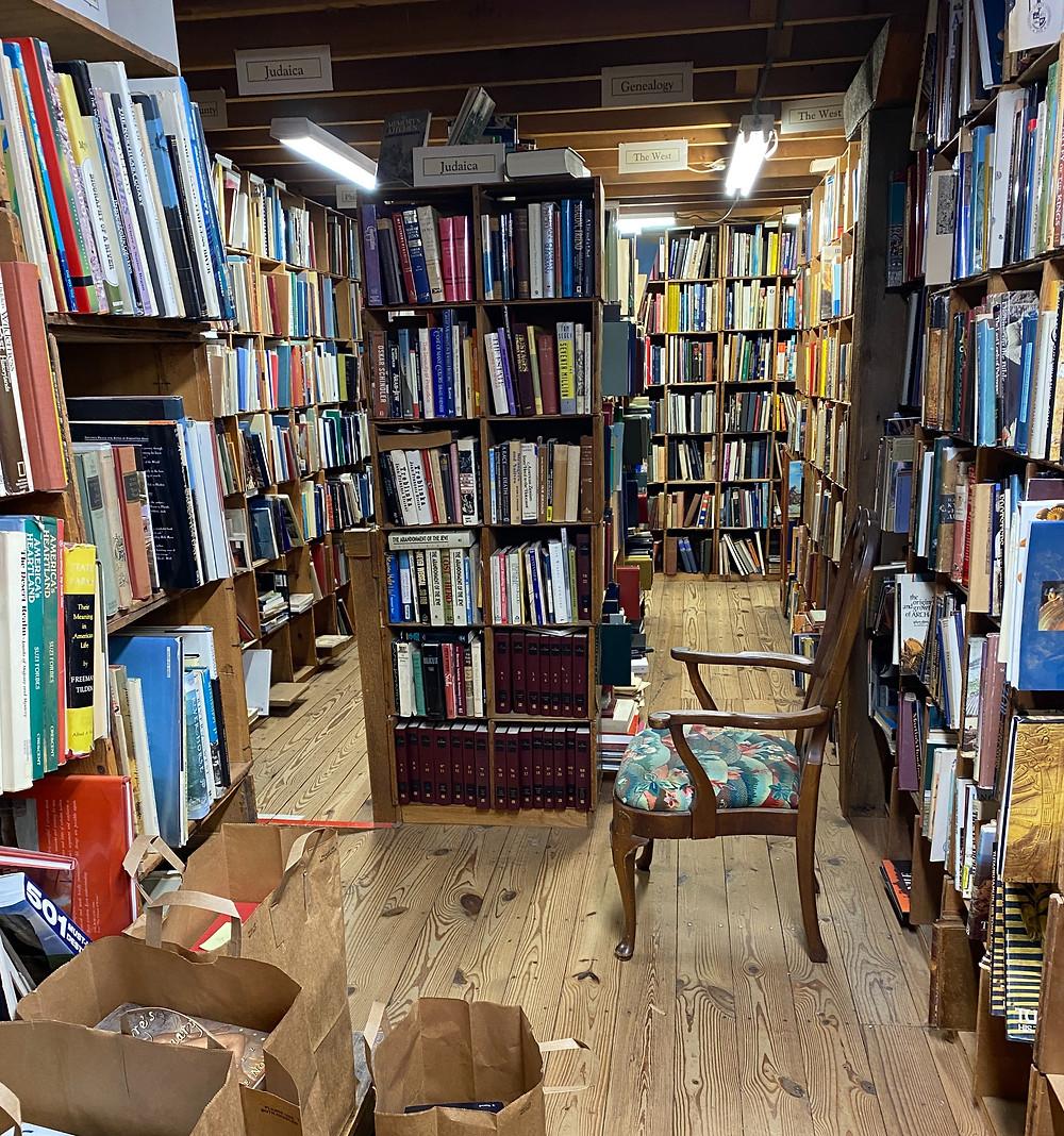 Book Barn Pennsylvania unique famous indie bookstore Philadelphia West Chester PA