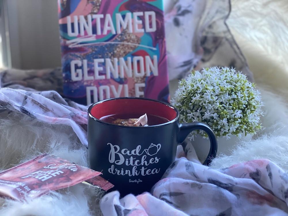 Untamed by Glennon Doyle and Snarky Tea sassy tea