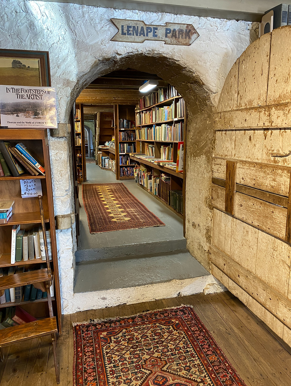 Book Barn Pennsylvania beautiful indie bookstore to get lost in Philadelphia