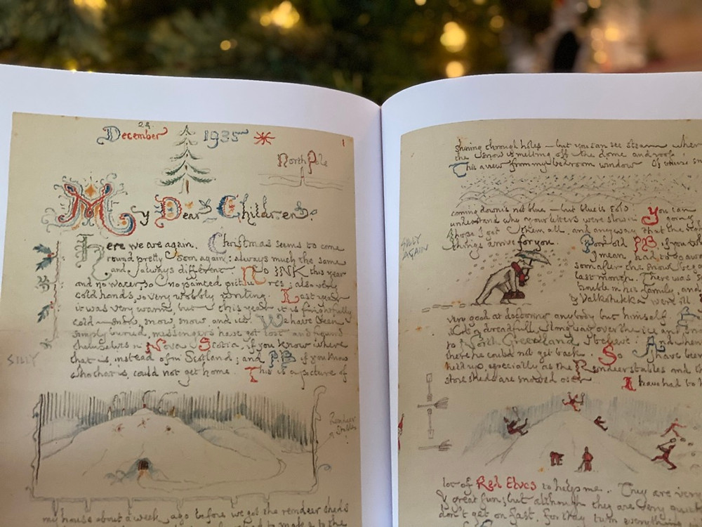 Letters from Father Christmas by JRR Tolkien Christmas Book for Children and Adults