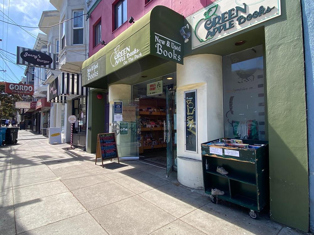Green Apple Books on the Park, San Francisco bookshop unique bookstores