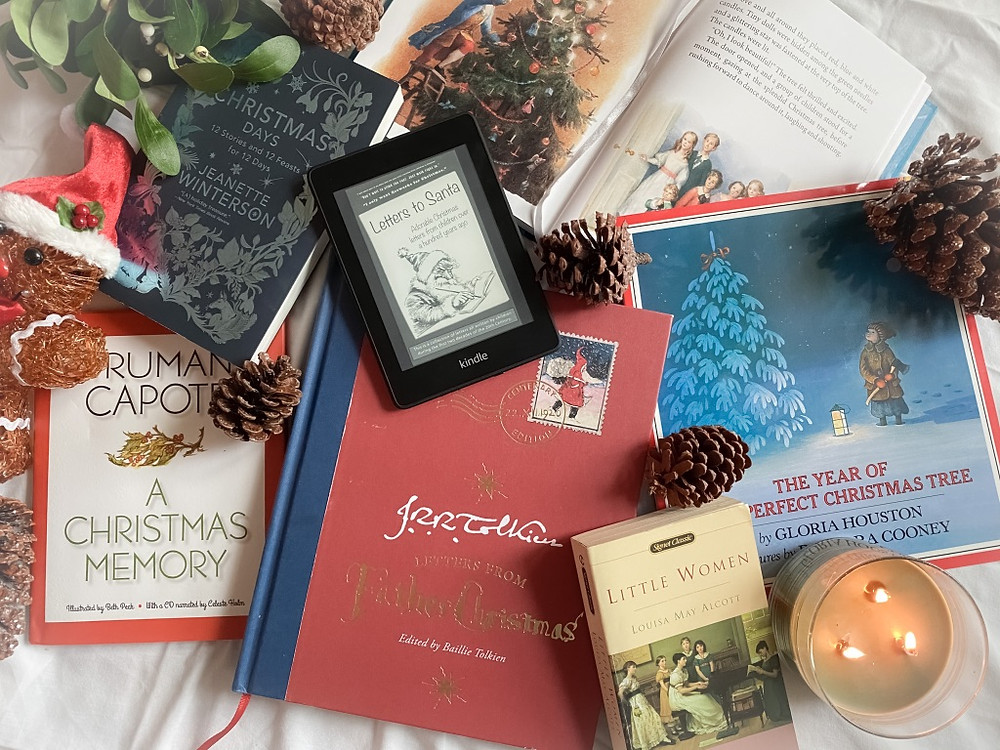 Christmas stories JRR Tolkien Letters to Santa Charles Dickens Little Women A Christmas Memory
