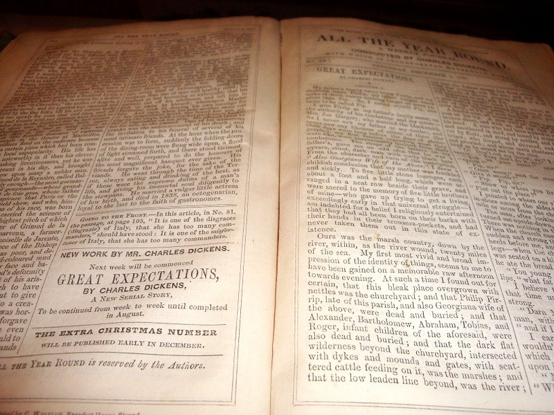 Charles Dickens museum first edition Great Expectations Dickens home London