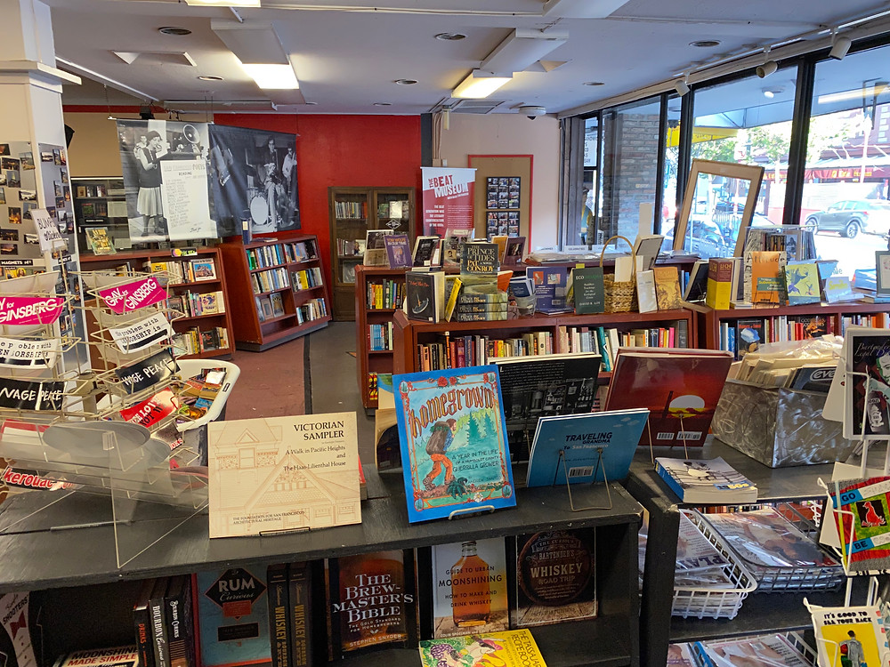 Beat Museum Bookstore San francisco bookshop North Beach Bookstore