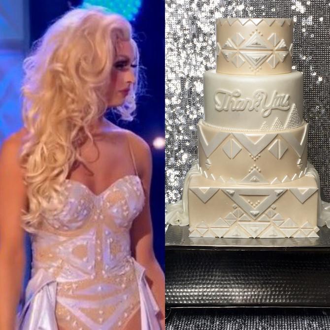 Tatianna Tribute Cake